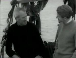Bob Roberts with Chris Chattaway